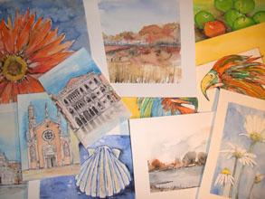 Aquarellmalerei Motive Und Vorlagen