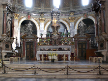 aussehen einer synagoge von innen