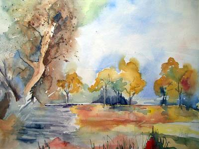 Landschaften Www Gudrun Roehm Art De Landschaft
