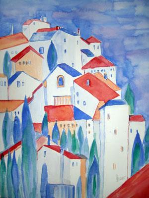 Helga buchegger aquarellmalerei